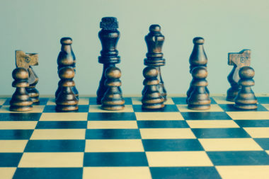 Bospar PR is strategic as depicted by a chess set