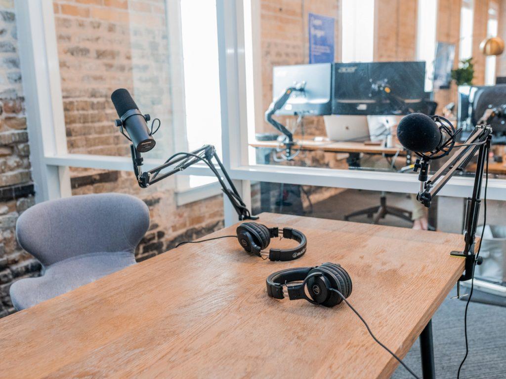 Podcast at Bospar